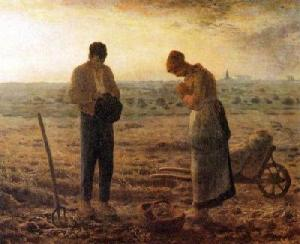 Ora et labora El Angelus de Millet