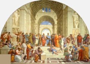 Escuela de Atenas de Rafael Sanzio